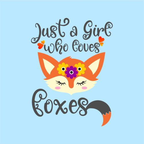 just a girl who loves foxes